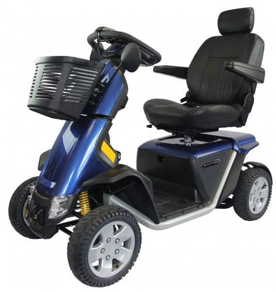 Elektromobil Safari, blau, inkl Service-Paket 3 all in