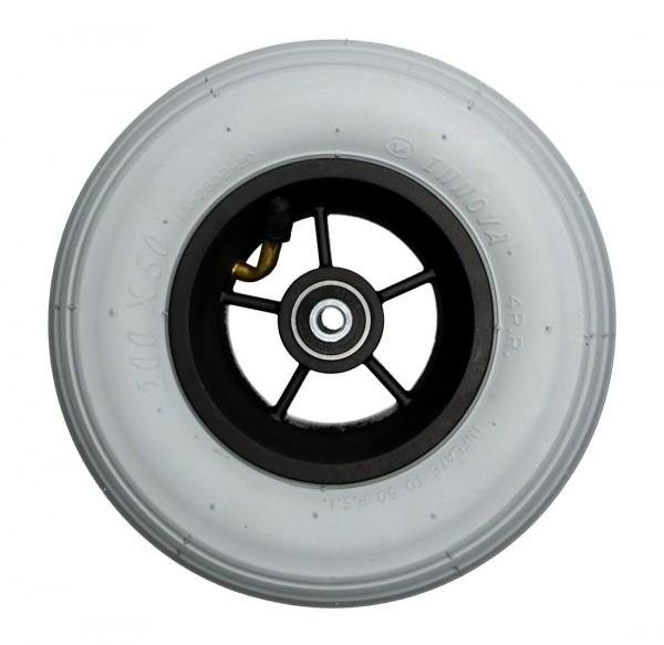 Mobilex 8 Zoll 190 mm Luftrad inkl Distanzbuchsen für 60 mm Gabel
