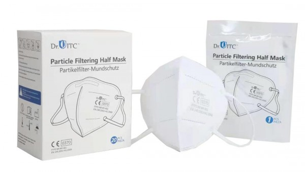 Xique Atemschutzmasken 20 Stück FFP2 Masken