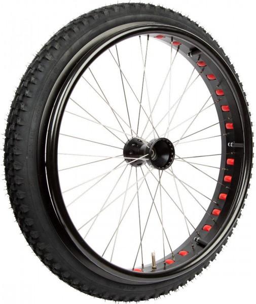 Rad für Rollstühle Mobilex Fat Wheel 24'', Outdoor Antriebsrad