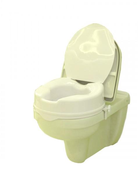 Toilettensitzerhöhung Careline CLEAN mit Deckel