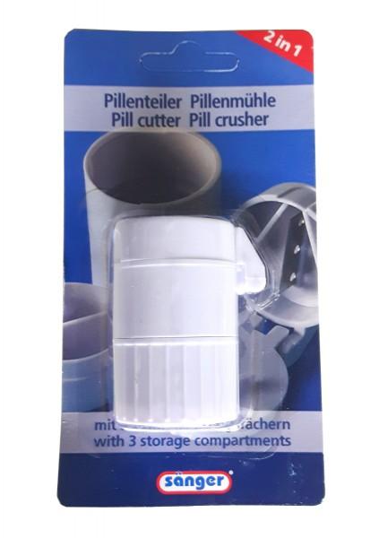 Sänger Pillenteiler Pillenmühle 2 in 1
