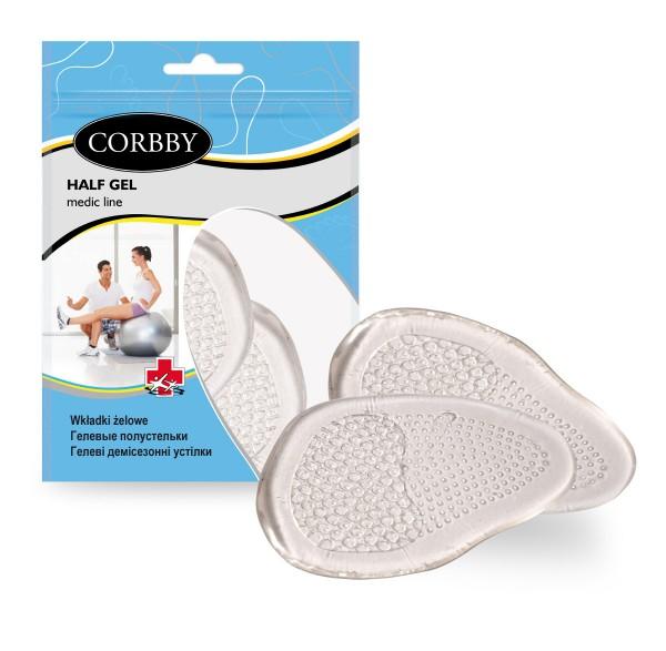 Corbby Half Gel Schuheinlagen