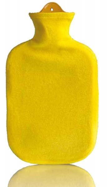 Wärmflasche Sänger mit Fleece-Bezug