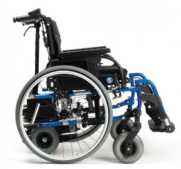Elektrischer Rollstuhl Vermeiren D200-V mit V-Drive Motor und Trommelbremse