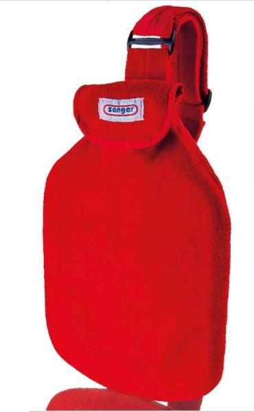 Sänger Wärmflasche mit Gurt, 2 Liter