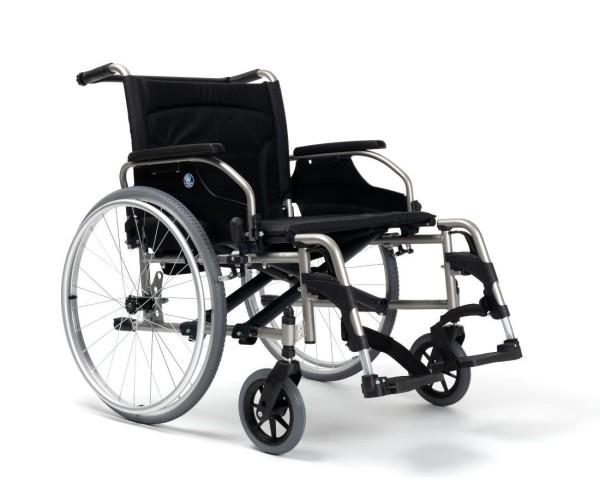 XL Rollstuhl Vermeiren V100 XL, Schwerlastrollstuhl faltbar