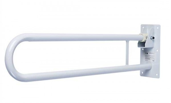 Careline Stützklappgriff - Größe: 76 cm Weiss bis 113 kg