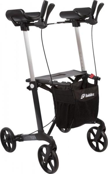 Arthritisrollator Mobilex Tiger mit Einhandbremse und Softrädern