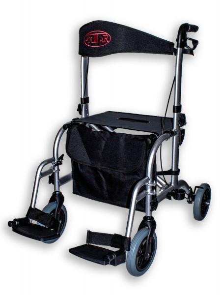 Antar Aluminium Rollator / Rollstuhl