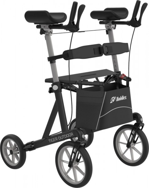 Arthritis-Rollator Mobilex Tiger Outdoor mit Schleifbremse