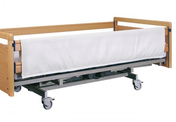 Careline Seitengitterpolster mit Klettverschluss für Bett