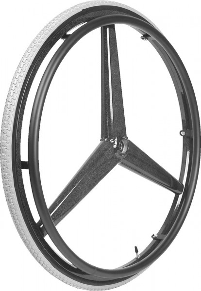 Rad für Rollstühle Mobilex Tristar 24'', Antriebsrad