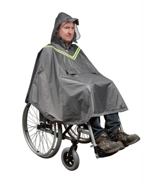 Regenponcho Mobilex für Rollstuhl-Nutzer