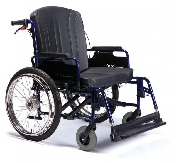 XXL Rollstuhl Vermeiren Eclips mit Trommelbremse