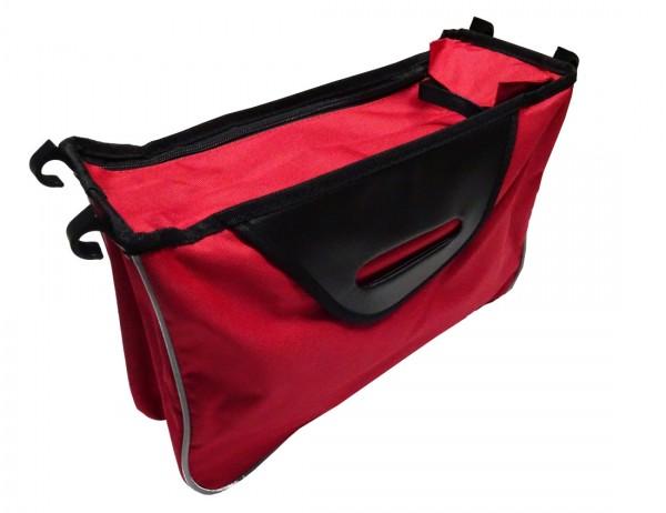 Ersatztasche nur für Royalbeach-Rollatoren Farbe: Rot