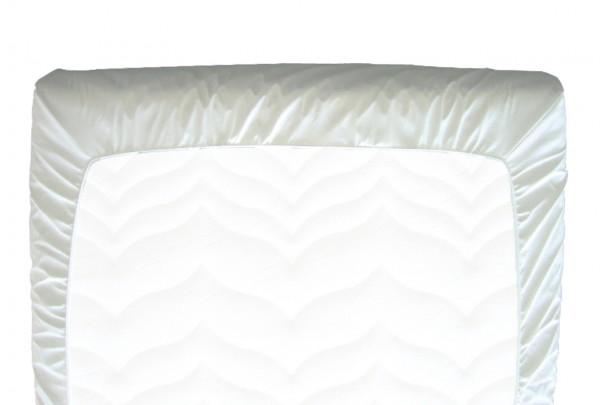 Careline PVC Spannbettbezug 90 x 200 cm, weiß