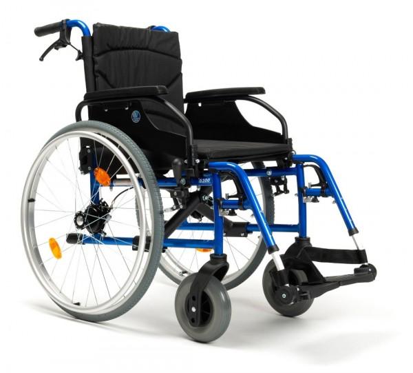 Rollstuhl Vermeiren D200-V mit Trommelbremse, Leichtgewichtrollstuhl faltbar