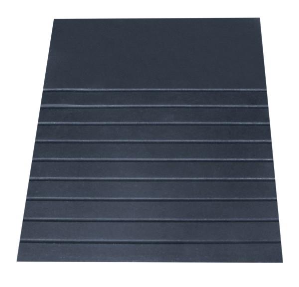 Roege Rampe 89x530x455mm schwarz