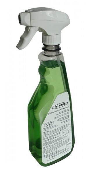 BECKMAK Flächendesinfektionsmittel 750 ml Sprühflasche