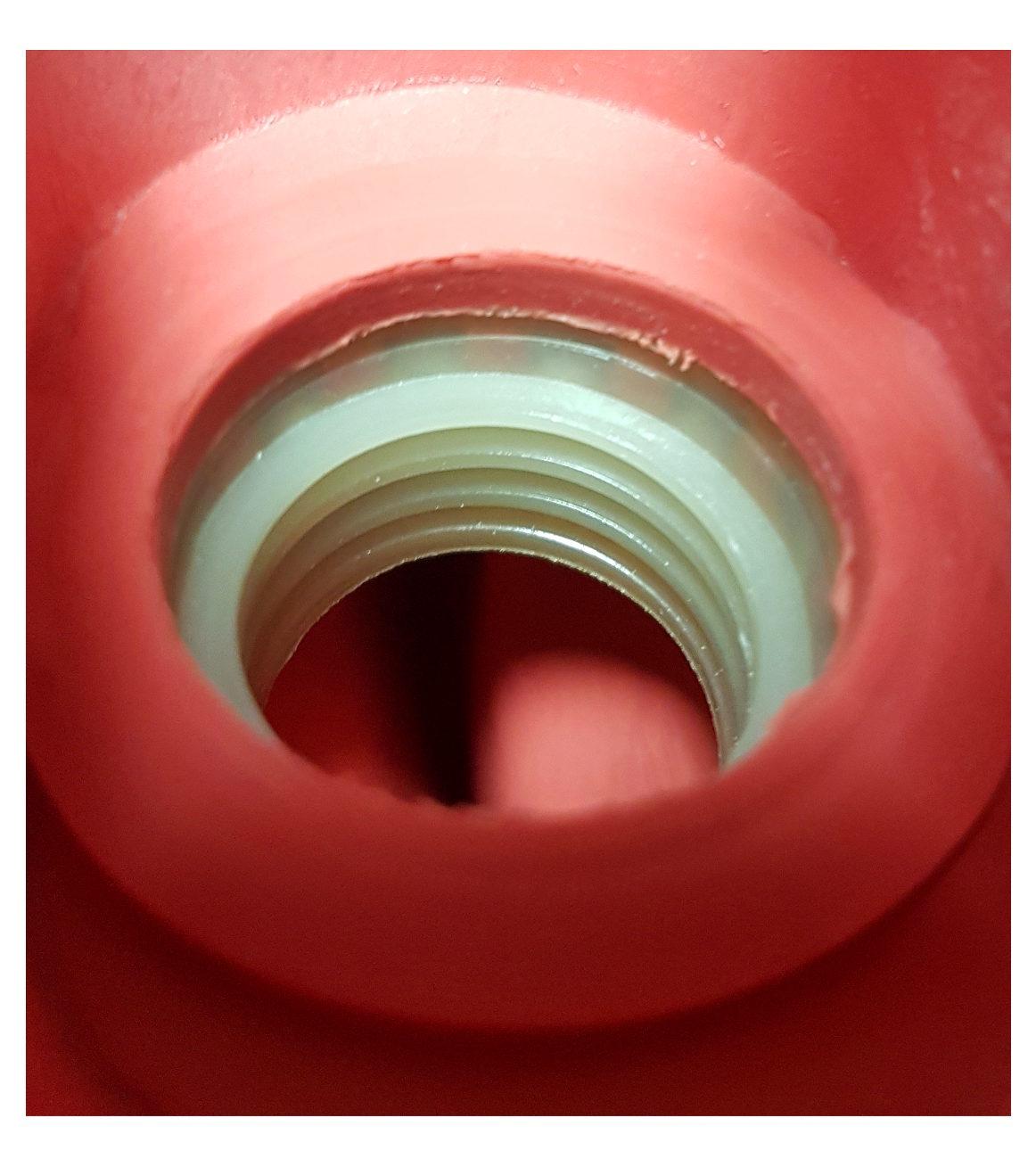 Verschluss f/ür W/ärmeflaschen Ersatzverschluss Schraubverschluss f/ür W/ärmflaschen mit Messinggewinde