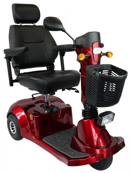 Elektromobil Joy, 3-Rad mit Deltalenker, rot inkl Service-Paket 3 all in