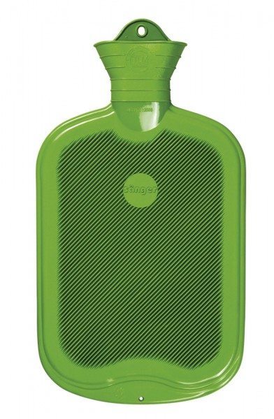 Wärmflasche Sänger 2 Liter beidseitige Lamellen