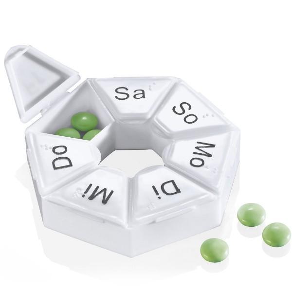 Sänger Tablettendose mit Tageskennzeichnung