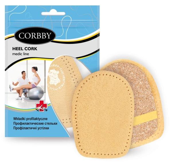 Corbby Heel Cork Schuheinlage