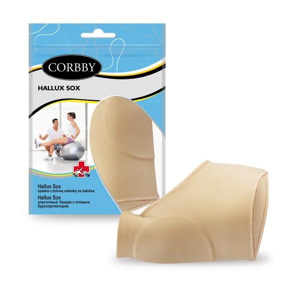 Corbby Hallux Sox Zehenschutz-Socke