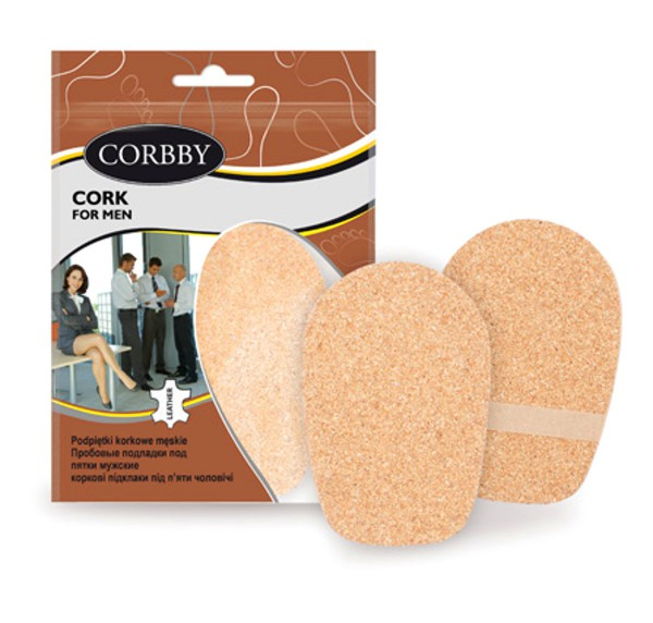 Corbby Schuheinlagen Cork