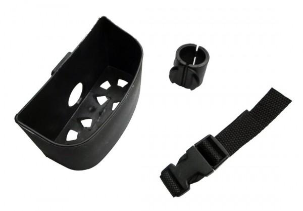 Rolko Doppel-Stockhalter STH4 für 25 mm Rohr